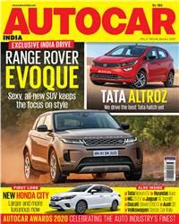 Autocar India Magazine Issue: Autocar India: January 2020