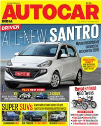 Autocar India Magazine Issue: Autocar India: November 2018