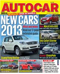 Autocar India Magazine Issue: November 2012