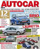 Autocar India Magazine Issue: September 2011 - 12th anniversary issue, collector