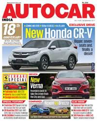 Autocar India Magazine Issue: Autocar India: September 2017