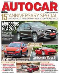 Autocar India Magazine Issue: September 2014
