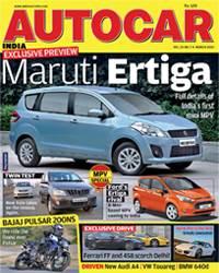 Autocar India Magazine Issue: Autocar India March 2012