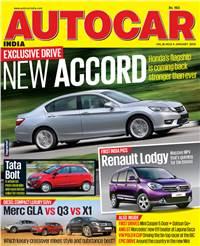 Autocar India Magazine Issue: Autocar India: January 2015