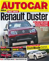 Autocar India Magazine Issue: Autocar India July 2012