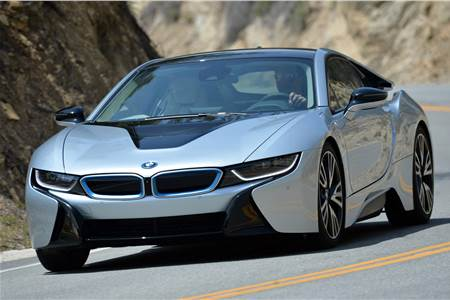 BMW i8 review, test drive