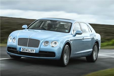 Bentley Flying Spur V8 review, test drive
