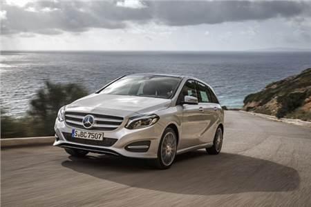 Mercedes-Benz B-class facelift review, test drive