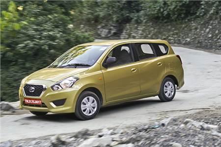 Datsun Go+ MPV India review, test drive