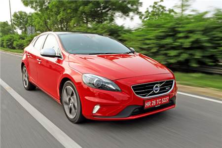 Volvo V40 review, test drive