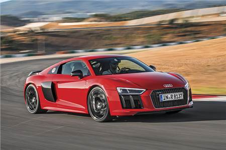 New Audi R8 review, test drive