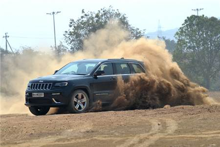 2016 Jeep Grand Cherokee SRT review, test drive