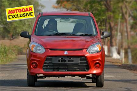 Maruti Alto 800 facelift review, test drive