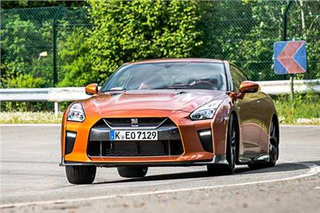 Nissan GT-R review, test drive