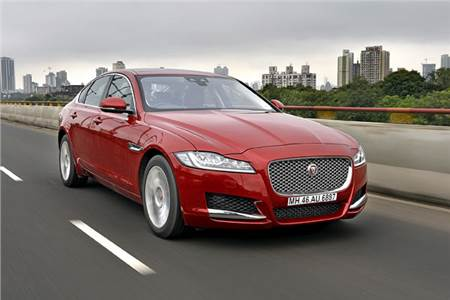 2016 Jaguar XF India review, test drive