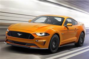 Facelifted Ford Mustang revealed