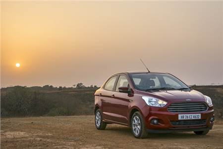 2017 Ford Figo Aspire long term review, first report