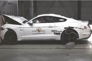 Ford Mustang's Euro NCAP rating upgraded to three stars
