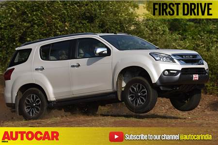 2017 Isuzu MU-X video review