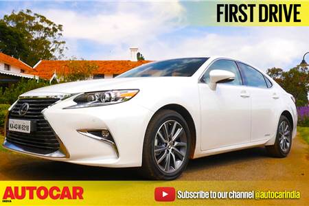 2017 Lexus ES300h video review