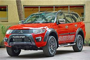 Mitsubishi Pajero Sport price drops by Rs 1 lakh