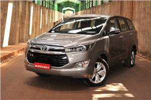 Toyota reintroduces 17-inch rims on Innova Crysta