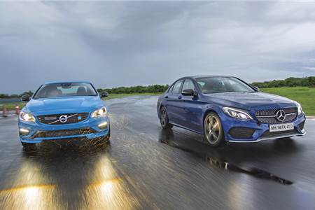 2017 Volvo S60 Polestar vs Mercedes-AMG C 43 comparison