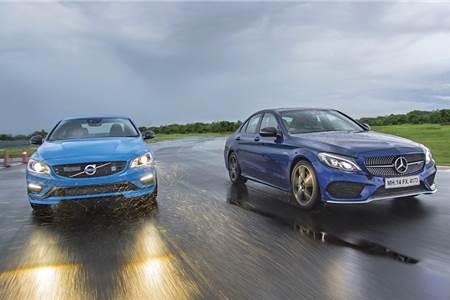 2017 Volvo S60 Polestar vs Mercedes-AMG C 43 comparison