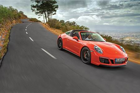2017 Porsche 911 Targa 4 GTS review, test drive