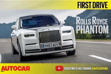 2018 Rolls-Royce Phantom video review