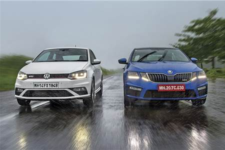 2017 Skoda Octavia RS vs Volkswagen GTI comparison