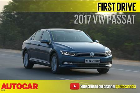 2017 Volkswagen Passat video review