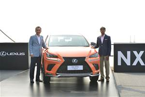 Lexus NX300h launches in India