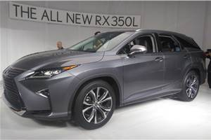 Upcoming Lexus RX L unveiled at LA Auto Show