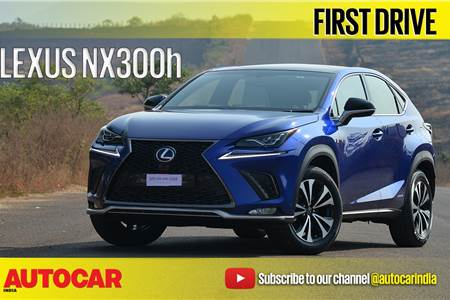 2017 Lexus NX300h video review