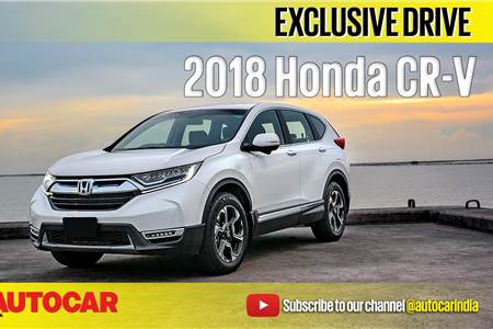 2018 Honda CR-V diesel video review