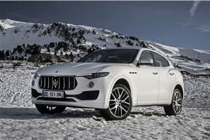 2018 Maserati Levante launched at Rs 1.45 crore