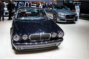 Customised Jaguar XJ6 created ahead of its 50th anniversary