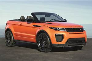 Range Rover Evoque Convertible India launch on March 27