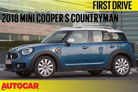 2018 Mini Countryman video review