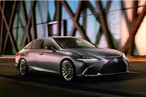 New Lexus ES revealed