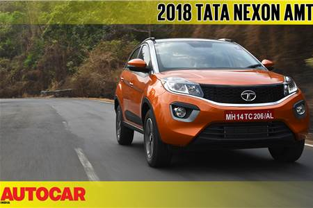 2018 Tata Nexon AMT video review