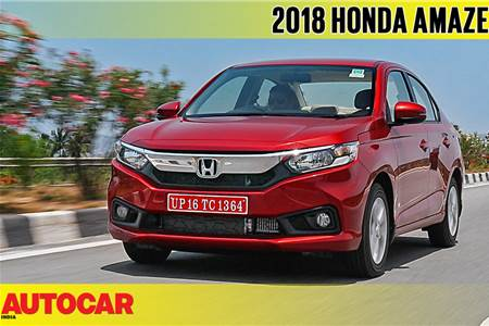 2018 Honda Amaze video review