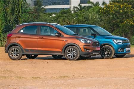 2018 Ford Freestyle vs Maruti Ignis comparison