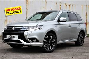Mitsubishi working on Outlander PHEV for India