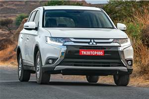 New Mitsubishi Outlander launched at Rs 31.54 lakh