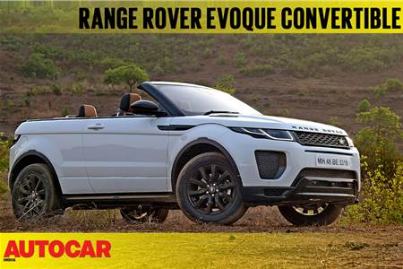 2018 Range Rover Evoque Convertible video review