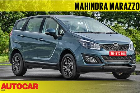 2018 Mahindra Marazzo video review