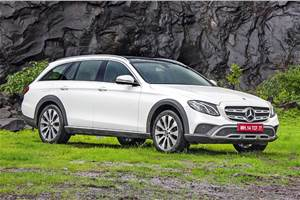 Mercedes-Benz E-class All-Terrain India launch on September 28