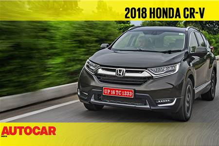 2018 Honda CR-V India video review